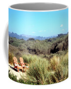 Beach Chairs With A View Coffee Mug