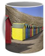 Beach Chalets - Whitby Coffee Mug
