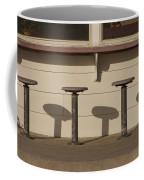 Beach Diner Stools Coffee Mug
