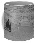 Beach Fishing Coffee Mug