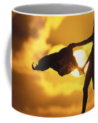 Beach Girl Coffee Mug by Sean Davey