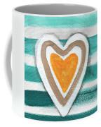 Beach Glass Hearts Coffee Mug