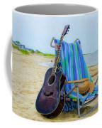 Beach Guitar Coffee Mug