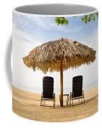 Beach Hut For Two Coffee Mug