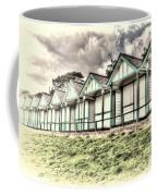 Beach Huts 4 Coffee Mug