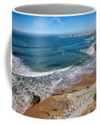 Beach In Resort Town Of Estoril Coffee Mug