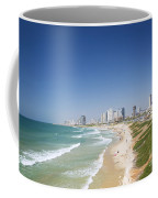 Beach In Tel Aviv Israel Coffee Mug