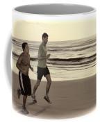 Beach Joggers Coffee Mug