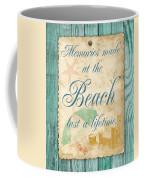 Beach Notes-a Coffee Mug