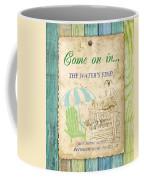 Beach Notes-b Coffee Mug