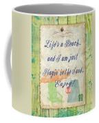Beach Notes-e Coffee Mug by Jean Plout