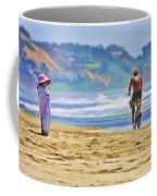 Beach Of Life Large Crop Coffee Mug