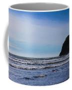 Beach On The Oregon Coast Coffee Mug