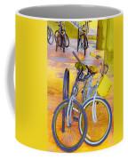 Beach Parking For Bikes Coffee Mug