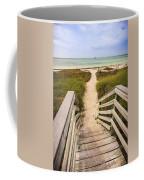 Beach Path Coffee Mug by Adam Romanowicz