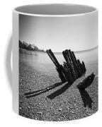 Beach Pilings Coffee Mug