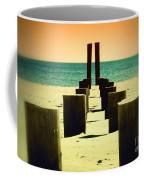 Beach Pylons Coffee Mug