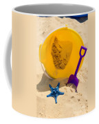 Beach Sand Pail And Shovel Coffee Mug