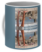 Beach Scene Coffee Mug by Betsy Knapp