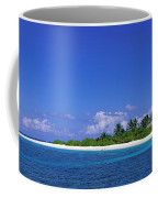 Beach Scene Maldives Coffee Mug