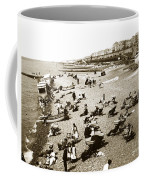 Beach Sean France  Circa 1900 Coffee Mug