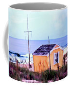 Beach Shack At Nags Head Coffee Mug