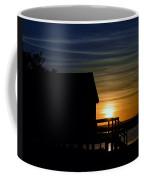 Beach Shack Silhouette Coffee Mug