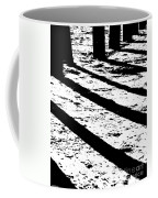 Beach Shadows Coffee Mug