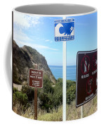 Beach Signs San Clemente Coffee Mug