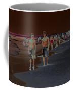 Beach Solar Series Vii Usa Coffee Mug