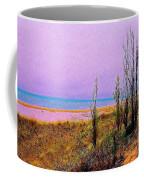 Beach Trees Coffee Mug