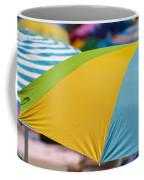 Beach Umbrella Rainbow 1 Coffee Mug