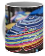 Beach Umbrella Rainbow 2 Coffee Mug