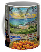 Beach View Coffee Mug by Carey Chen