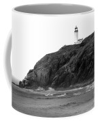 Beach View Of North Head Lighthouse Coffee Mug by Robert Bales