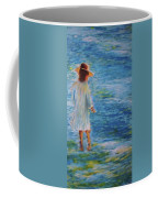 Beach Walker Coffee Mug