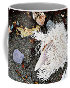 Beach Wares - Shells - Feather Coffee Mug