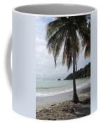 Beach With Palm Tree Coffee Mug