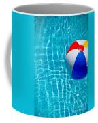Beachball On Pool Coffee Mug