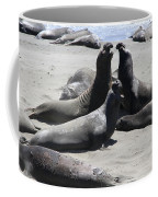 Beachmasters - Elephant Seals Coffee Mug