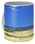 Beachouses As Seen From Jockey's Ridge State Park Coffee Mug