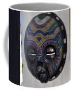Handbeaded Mask Mexico Coffee Mug