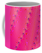 Beaded Pink Coffee Mug