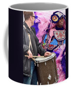 Beads And Feathers At Mardi Gras Coffee Mug