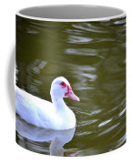 Beak And Feather Reflections Of The Muscovy  Coffee Mug