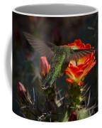 Beak Deep In Nectar  Coffee Mug