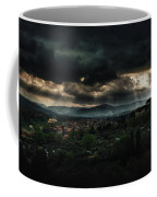 Beams Of Light Over Florence Coffee Mug