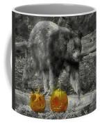 Bear And Pumpkins Coffee Mug