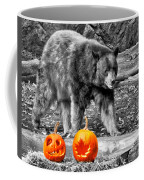 Bear And Pumpkins Too Coffee Mug