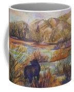 Bear In The Slough Coffee Mug
